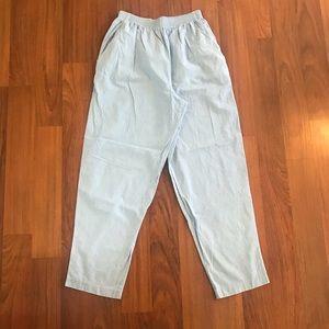 Vintage high waisted cotton pants